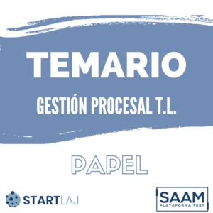 temario gestión procesal
