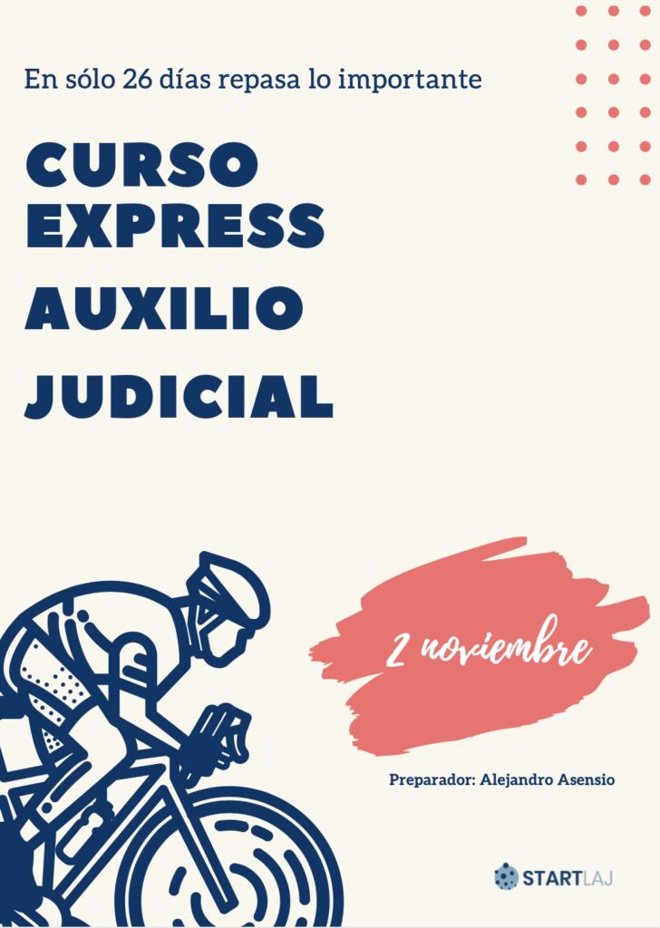 curso exprés auxilio judicial
